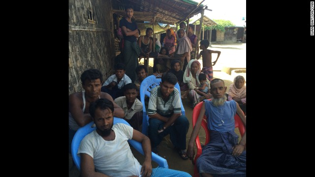"SITTWE, MYANMAR: ""Members of Myanmar's Rohingya Muslim community, living in a displaced persons camp more than two years after deadly ethnic and sectarian violence killed hundreds of people and left more than 140,000 Rohingyas homeless."" - CNN's Ivan Watson. <a href='http://edition.cnn.com/2014/11/11/world/asia/myanmar-rohingya-minority/index.html?iref=allsearch'> FULL STORY AT CNN.COM </a> Follow <a href='http://instagram.com/ivancnn' target='_blank'>@ivancnn</a> along on Instagram for more captures from Myanmar."