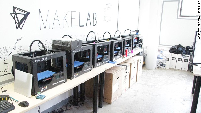 3D printing seems to be everywhere these days and if your looking to get a piece of the fun, MakeLab in Toronto will teach you to 3D print, well, just about anything.