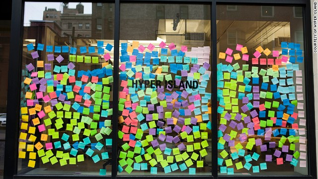 Hyper Island offer courses specifically geared to giving students a competitive edge in the workspace. Courses in digital marketing and strategy are offered all year round. And with a window covered in Post-it notes, you can only imagine how productive it is inside!