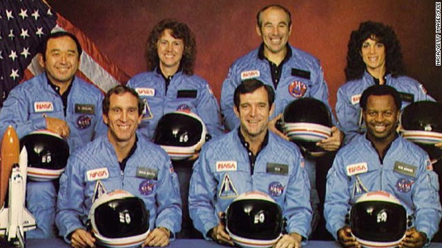 Sadly, among NASA's triumphs have been tragedies. In 1986, the seven members of Space Shuttle Challenger died after their rocket broke apart 73 seconds after launch.