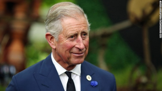 Charles, Prince of Wales and heir to the throne of Queen Elizabeth II, speaks to guests during a reception to celebrate the 21st anniversary of Duchy originals products at Clarence House on September 11, 2013, in London.