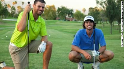 Bryan Bros. Amazing golf trick shots
