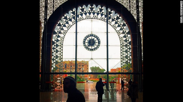 "MARRAKECH, MOROCCO: ""In transit through a centuries-long crossroads of humanity in one of my favorite places...Marrakech Train Station."" - CNN's Errol Barnett. Follow Errol (<a href='http://instagram.com/errolswindow' target='_blank'>@errolswindow</a>) and other CNNers along on Instagram at <a href='http://instagram.com/cnn' target='_blank'>instagram.com/cnn</a>."