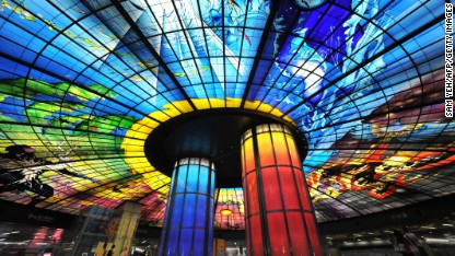 World's most impressive metro stations