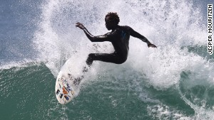 Catching the perfect wave in Dakar