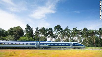 Eurostar redefines fast