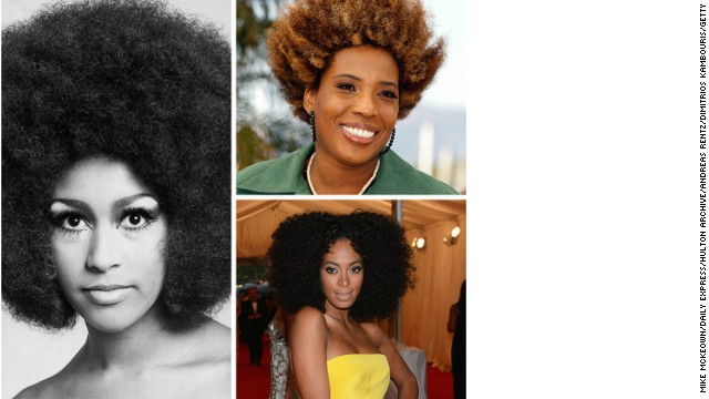 During slavery it is said that relaxers, hot combs and braiding techniques were used to achieve a more 'European' look. However, the Civil Rights Movement caused more people to appreciate the beauty of natural hair. The Afro itself became a political statement.