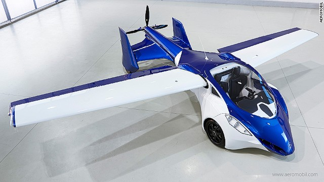 The start-up's sporty working prototype looks like a finished production model and has a range of 430 miles (700km) and a top air speed of 124mph (200kph).