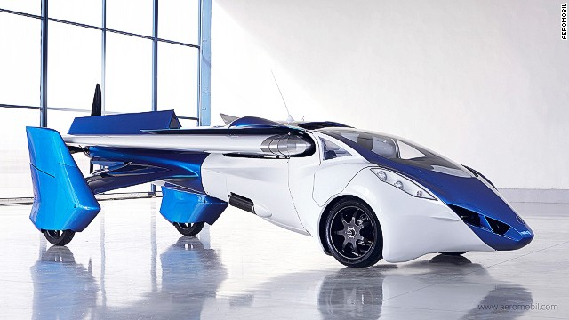 The race to develop and mass-produce the world's first fully functional flying car is beginning to resemble the early days of aviation more than 110 years ago when other contenders, besides the Wright brothers, were battling to get their machines off the ground. Pictured above is the Flying Roadster from Aeromobil unveiled in Vienna last month.
