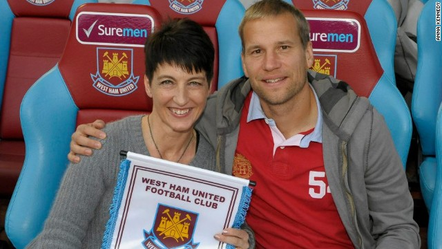 West Ham is just one of the clubs working with Kennedy in her anti-bullying campaign. The club has also provided training sessions for autistic children.