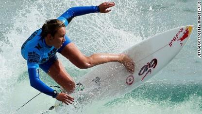 Surf queen: Ocean is my office