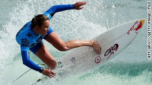 Surf queen: Ocean is my office