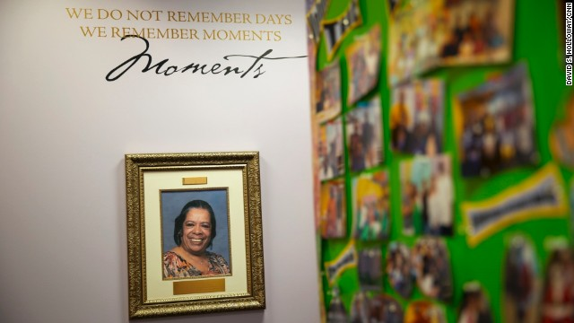 A photo of the late Julia March, March-Grier's mother and the inspiration behind Roberta's House.