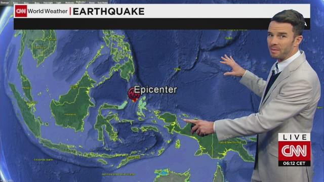 Indonesia registra un terremoto de 7,3 grados y activa la alerta de tsunami