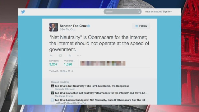 Porn stars teach Ted Cruz net neutrality (Opinion) - CNN.com