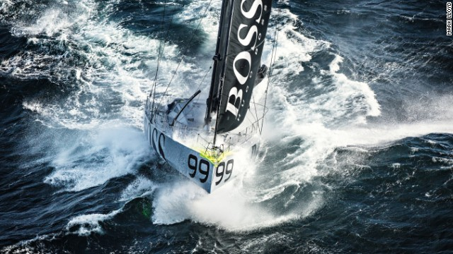 Alex Thomson is one of the world's best sailors and remains unfazed by the dangers of the sea despite some close scrapes.
