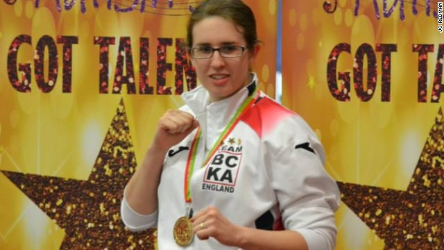 Jo Redman wasn't diagnosed with Asperger's until she was 23 -- but that hasn't stopped her from becoming a kickboxing champion.