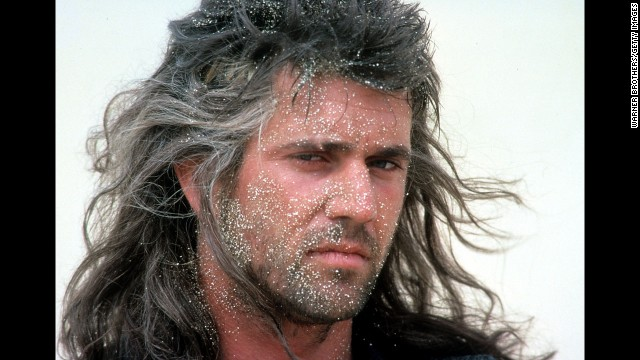 """Before he was known<a href='http://www.cnn.com/2010/SHOWBIZ/celebrity.news.gossip/07/09/mel.gibson.rant/' target='_blank'> for getting mad,</a> Mel Gibson's fame from the """"Mad Max"""" films led him to be named People's first sexiest man alive in 1985."""