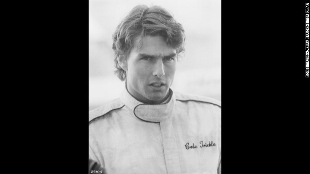 """Tom Cruise (seen here in """"Days of Thunder"""") was a hot selection in 1990."""
