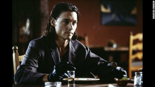 """Johnny Depp starred in """"Once Upon a Time in Mexico"""" in 2003 and on the cover of People's sexiest man issue."""