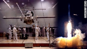 Mariner 10, the first probe to reach Mercury, was launched in 1973