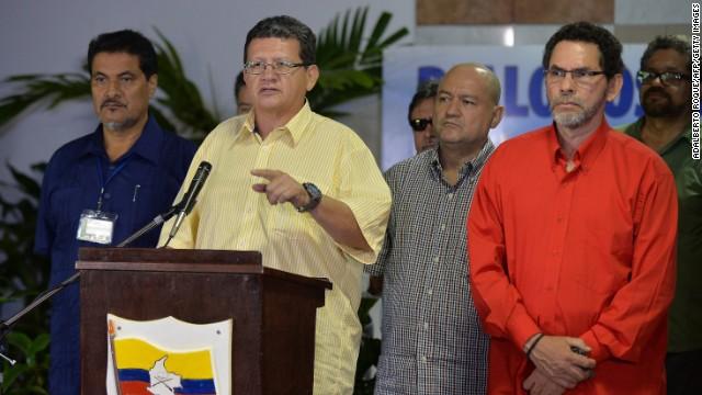 Las FARC envían las coordenadas dónde liberarán a los cinco rehenes el lunes