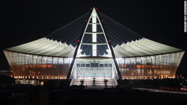 Nienhoff also designed the Moses Mabhida Stadium in Durban, for the 2010 South African World Cup.