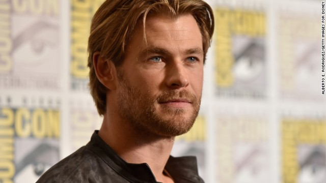 """Chris Hemsworth was named People's Sexiest Man Alive for 2014 Tuesday night on """"Jimmy Kimmel Live."""" He joins this illustrious list of past honorees...."""