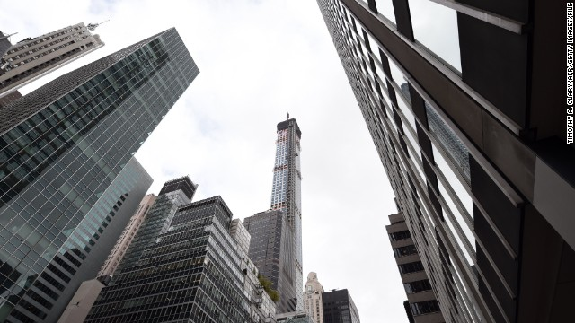<strong><i><u>Name:</u></i></strong> 432 Park Avenue<!-- --></br><!-- --></br><strong><i><u>Location:</u></i></strong> New York, United States<!-- --></br><!-- --></br><strong><i><u>Height: </u></i></strong>425.7 meters (1,397 feet)<!-- --></br><!-- --></br><strong><i><u>Description: </u></i></strong>New York was once the undisputed home of the skyscraper. While the likes of Dubai and Shanghai may now be challenging for that mantle, NYC can still hold its own in the tall tower stakes. 432 Park Avenue will be the third tallest building in the United States when it is completed in 2015.