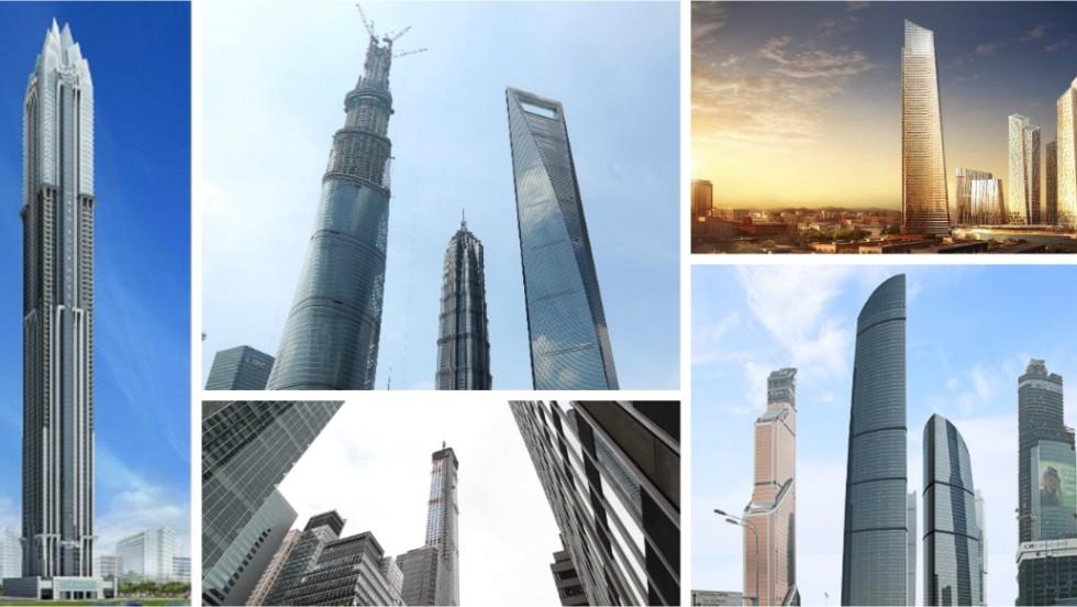 Mira hacia el cielo: allí se encontrarán los rascacielos más altos del 2015