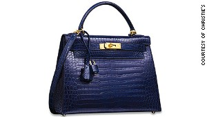 Christie's million-dollar vintage handbag sale