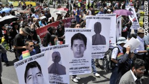 Thousands protest for Mexico's missing