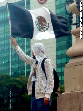 Manifestaciones por Ayotzinapa
