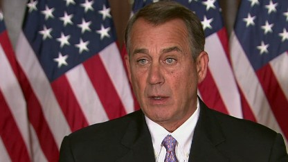 Boehner sues, slams President