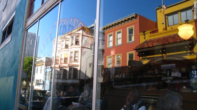 Midway between downtown and Fisherman's Wharf, vibrant North Beach still captures the eclectic pulse of San Francisco.