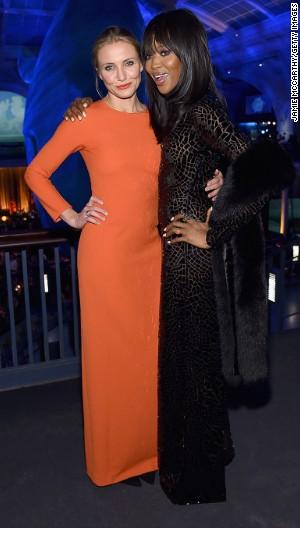Cameron Diaz, Naomi Campbell