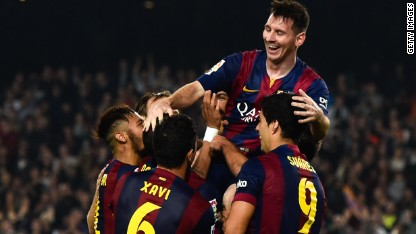 "Football: Messi breaks ""brutal"" record"