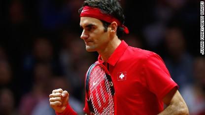 Tennis: Federer, Swiss win Davis Cup