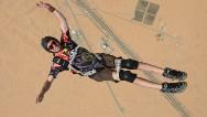 Un paralítico conquista los cielos de Dubái