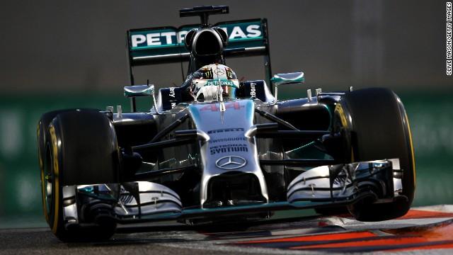 Hamilton gana su segundo título mundial de la F1 en Abu Dhabi