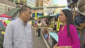 Jimmy Lai urges protestors to retreat