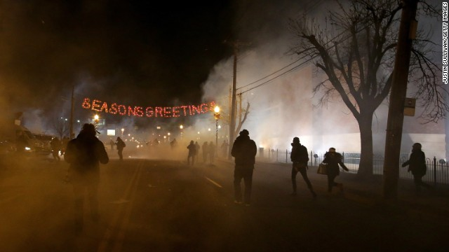 Photos: Reaction to Ferguson decision