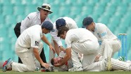Cricketer Phil Hughes fighting for life