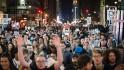 En Nueva York también protestan por  ...