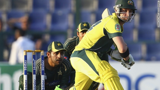 The 25 year old also played for Australia's one day team on 25 occasions, scoring 826 runs.