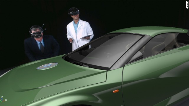 The shift from games to business is exemplified by Canon's MREAL - mixed reality - device, tailored to manufacturing needs and yours for $125,000.
