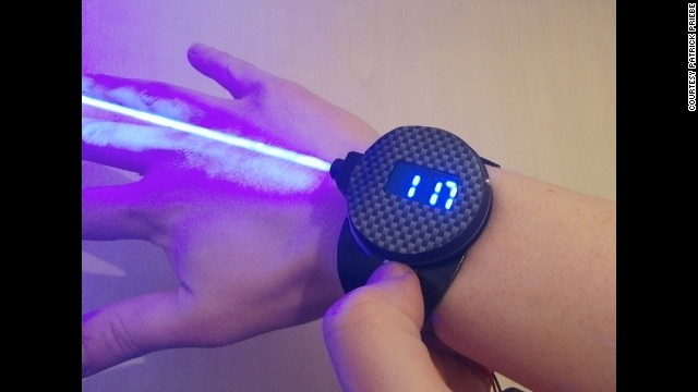 Inventor creates watch that fires laser - CNN.com