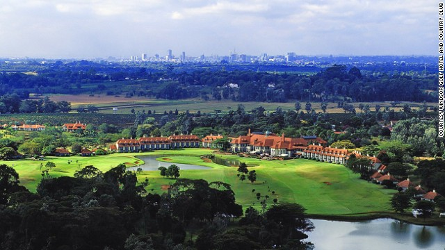 You'll go on a mini safari while playing at Nairobi, Kenya's Windsor Golf and Country Club. Monkeys and an array of birds are common sights.