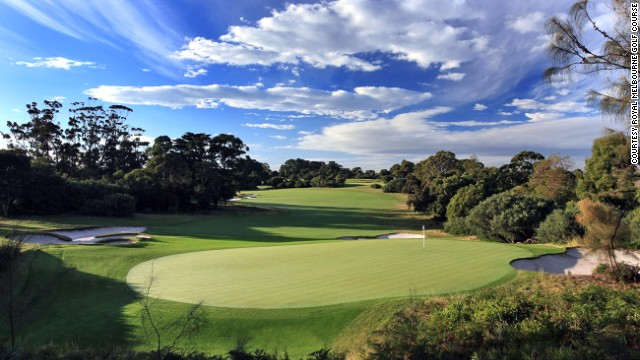 Not for beginners, the Royal Melbourne is the oldest golf club in Australia. Its notorious hazards include vast expanses of tea tree scrubs and cavernous bunkers.