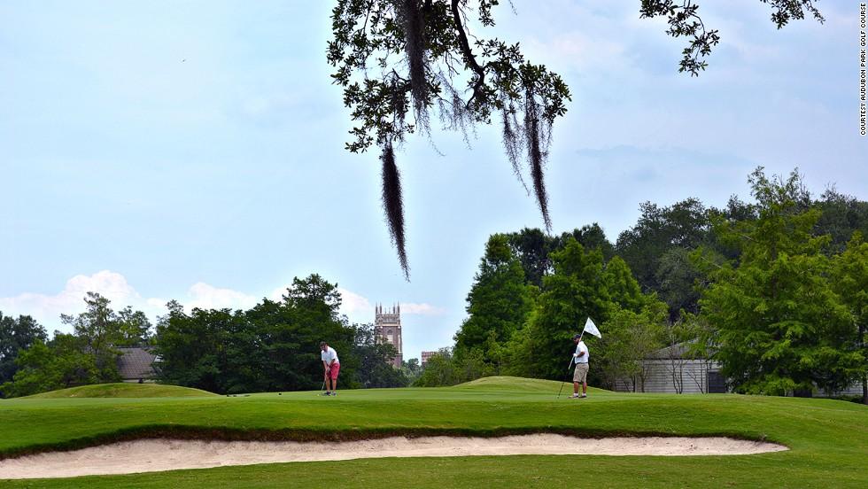 Audubon Park Golf Course (Nueva Orleans, Louisiana)